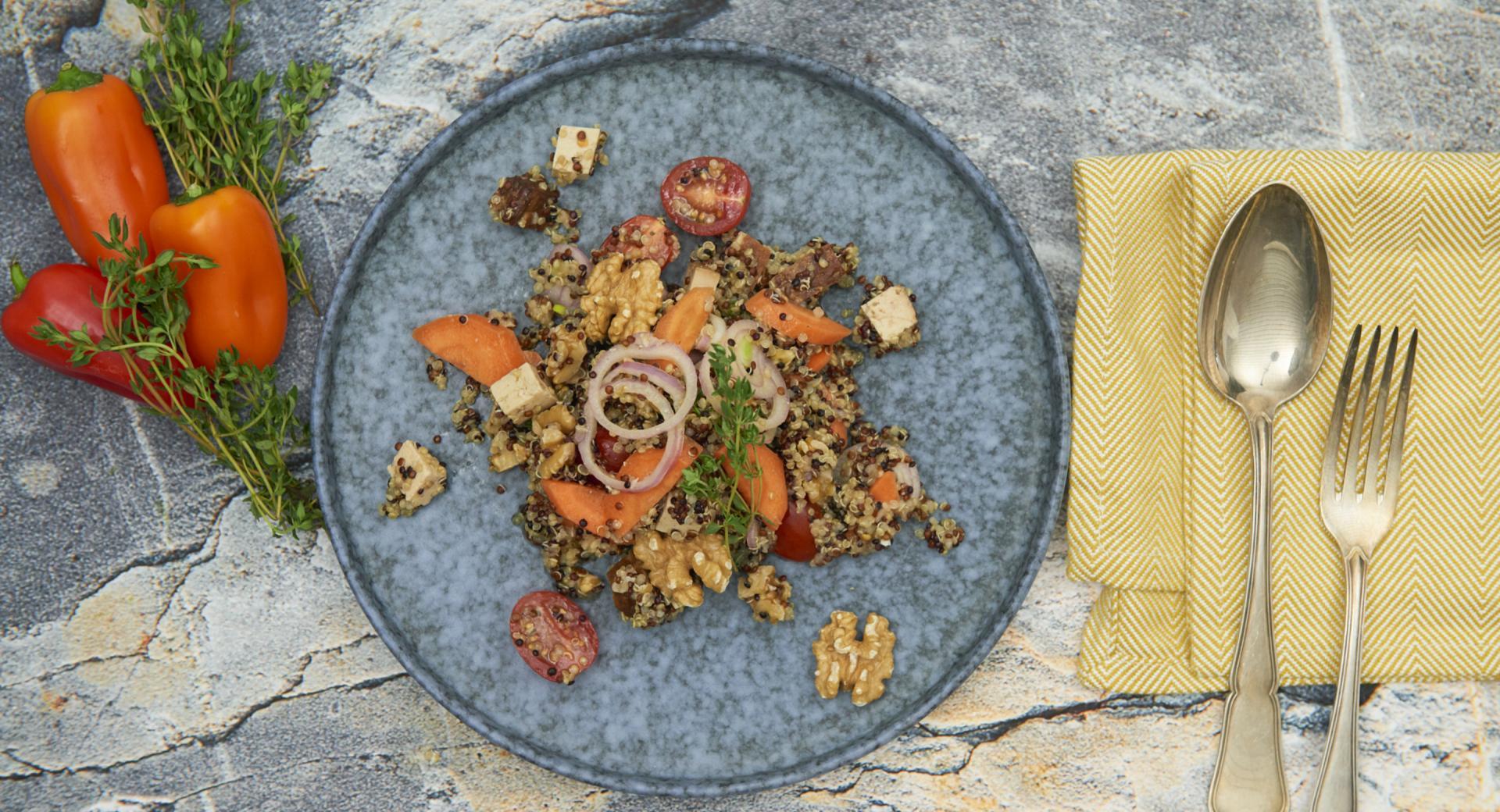 Insalata vegana di Quinoa