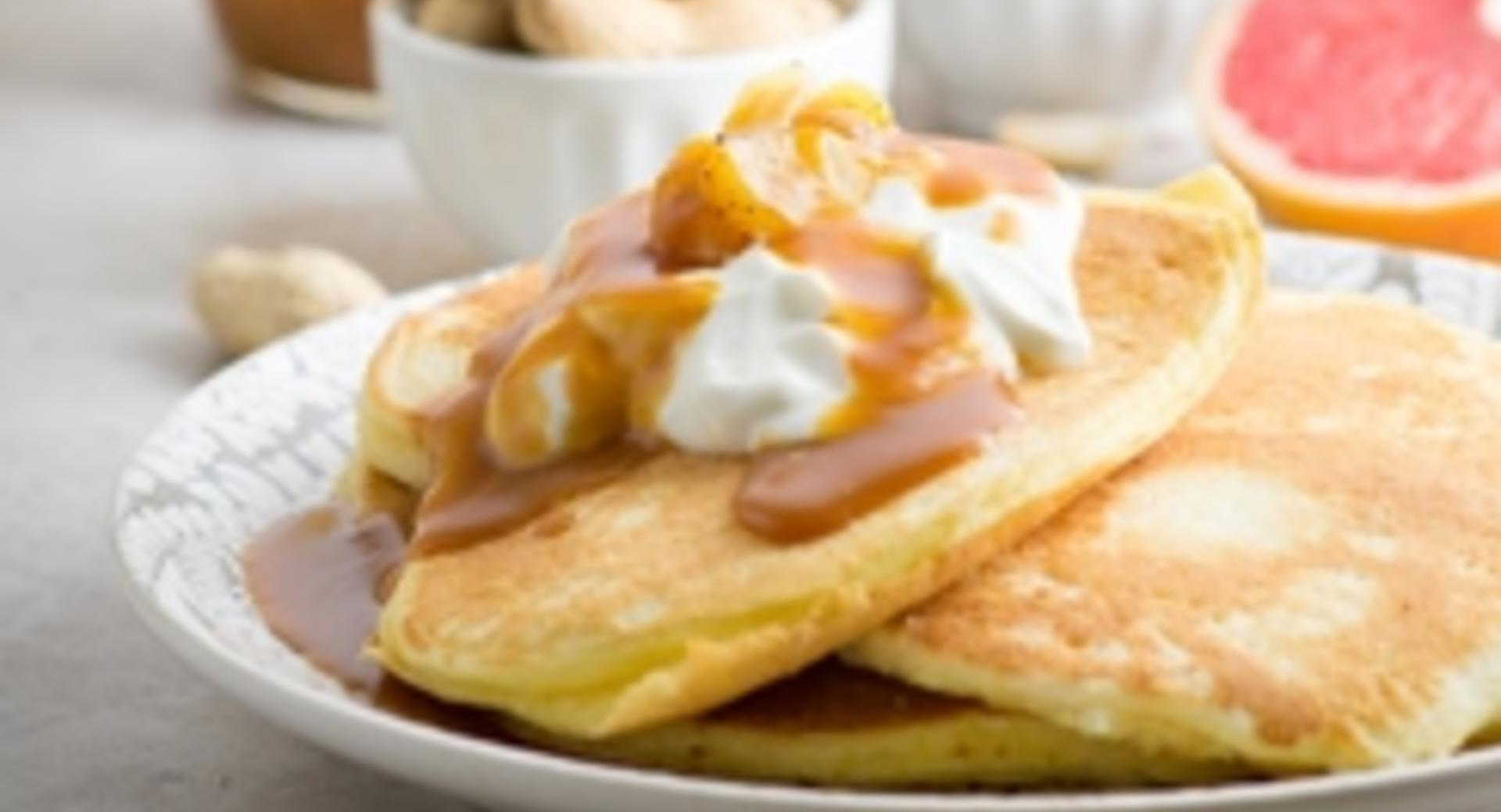 Pancakes con ricotta