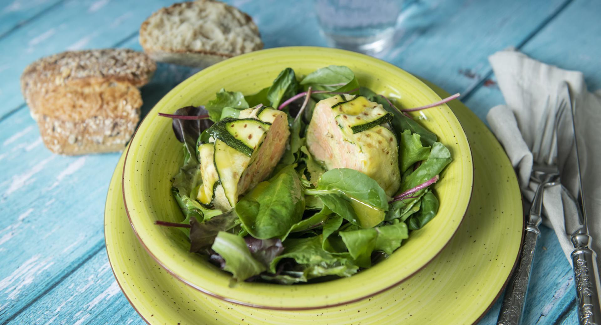 Sformatini di salmone e patate