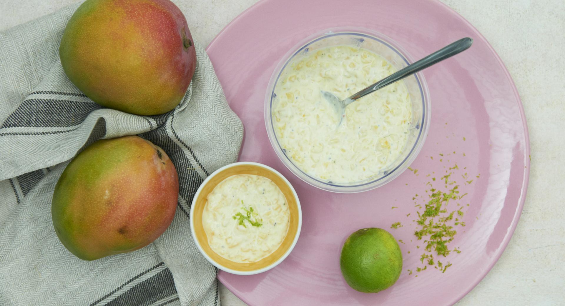 Salsa mango e lime