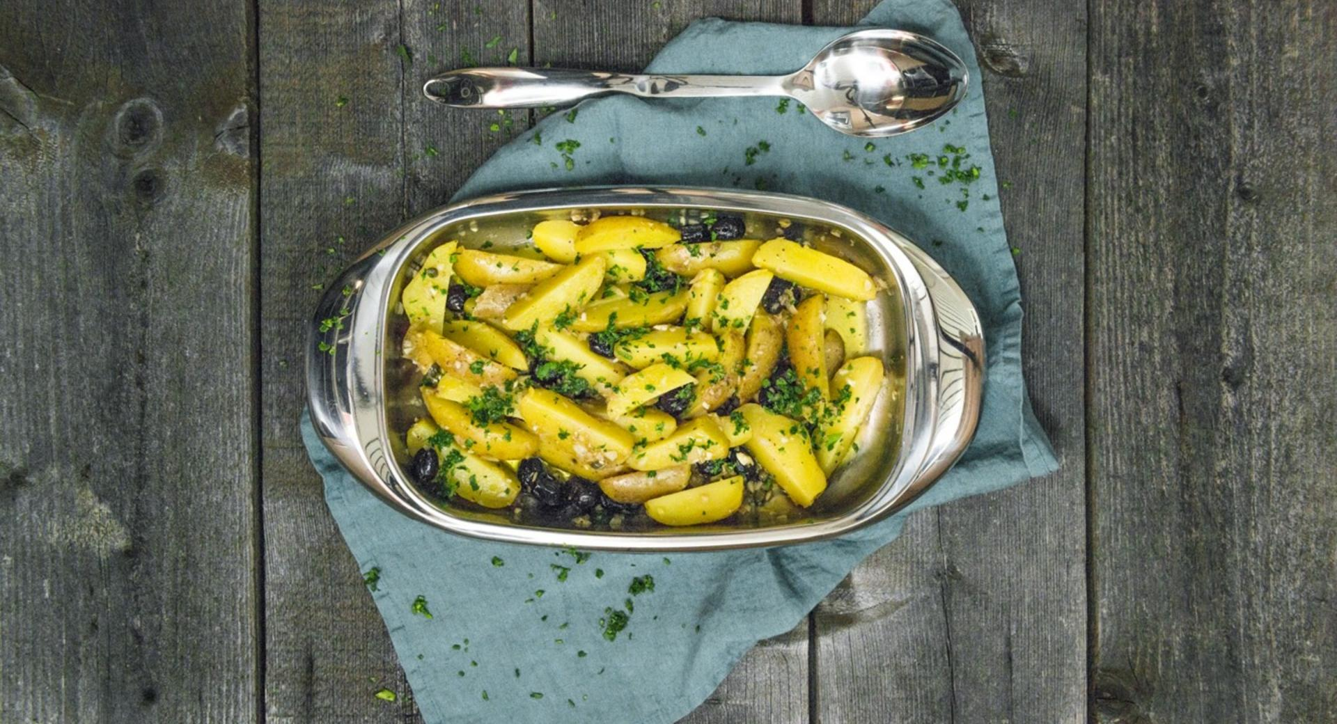 Insalata di patate con olive