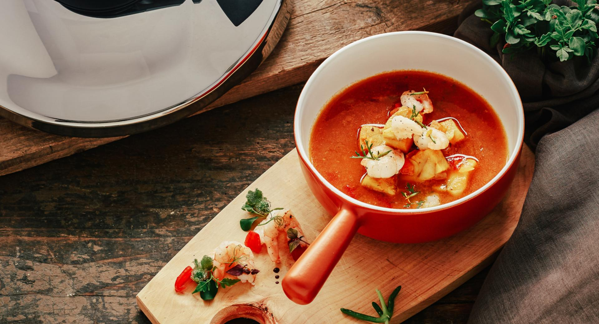 Zuppa di pesce spagnola