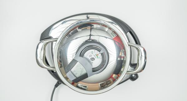"""<span><span lang=""""IT""""><span>Al suono di Audiotherm, impostare Navigenio a livello 2 o ridurre il calore del fornello al minimo, spegnere il segnale acustico e proseguire la cottura per il tempo impostato.</span></span></span>"""