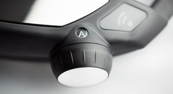 """Impostare Navigenio sulla modalità di cottura automatica """"A""""."""