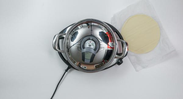"""Appena l'indicatore rosso raggiunge la finestra """"carne"""", Audiotherm emette un segnale acustico.Spegnere il segnale acustico con il tasto destro o sinistro."""