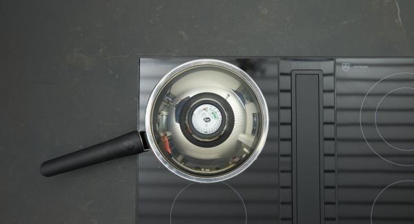Coprire con il coperchio e cuocere per ca. 20 minuti.
