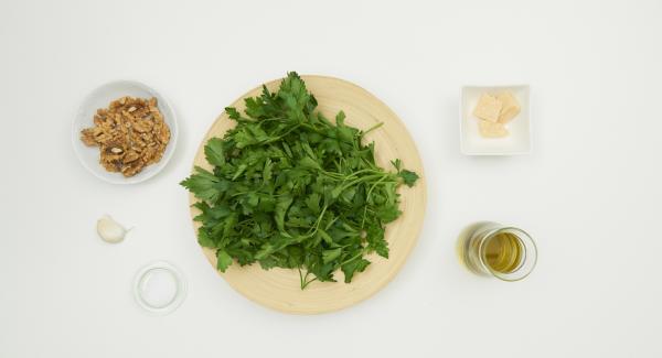 Disporre gli ingredienti sul piano