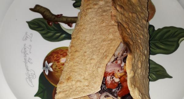 Burritos vegetariani