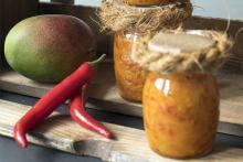 Chutney di mango piccante